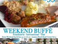 Weekend Lunch Buffet 299 Baht